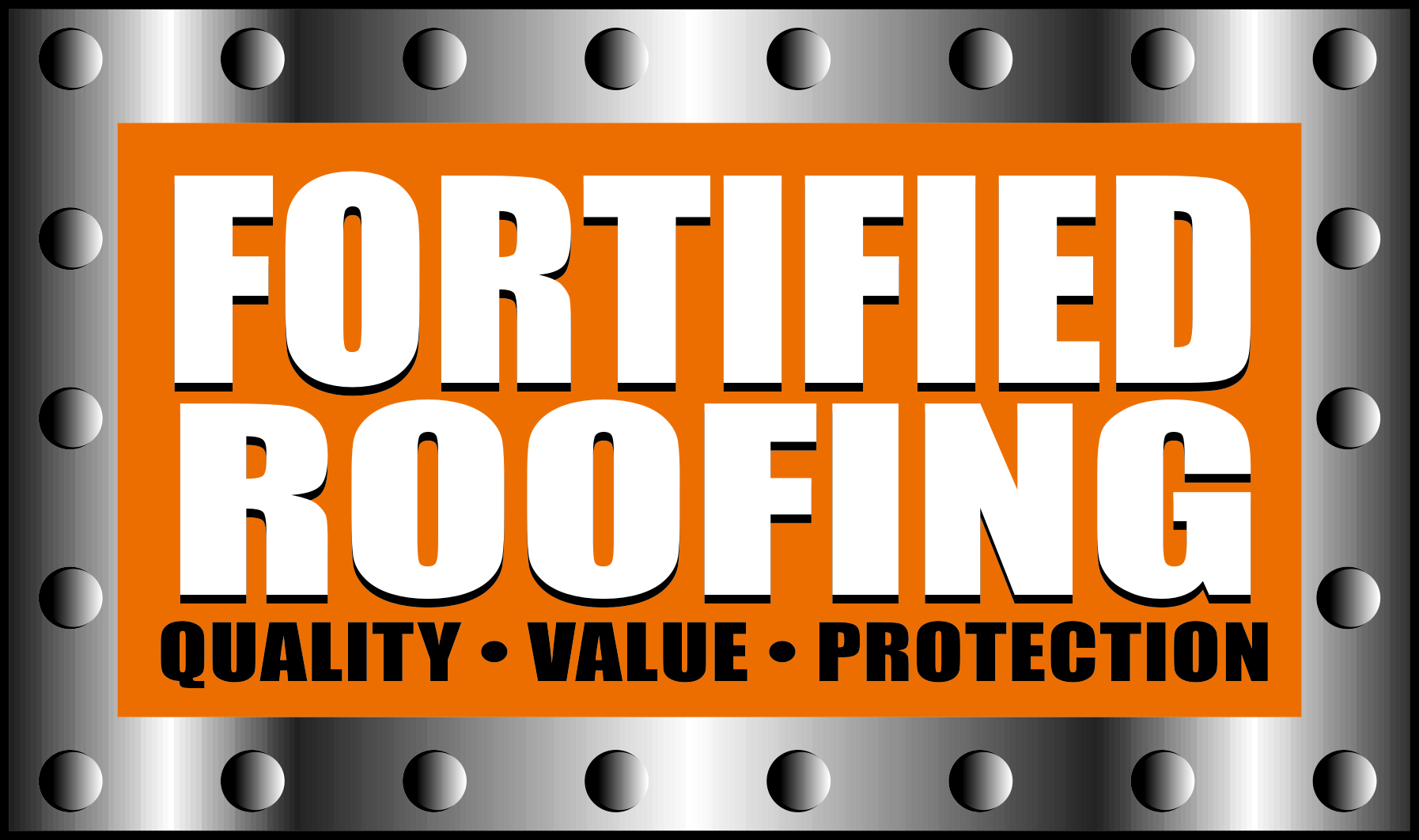 Fortified Roofing Logo